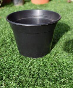 Round plastic 4 inch Half pots